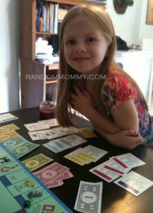 Our Little Monopoly Champ