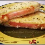 Grilled Cheese with Mozzarella and Tomato