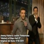 Jimmy Fallon and Justin Timberlake – History of Rap