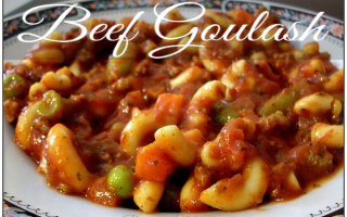 Beef Goulash Recipe for Frugal Budgets