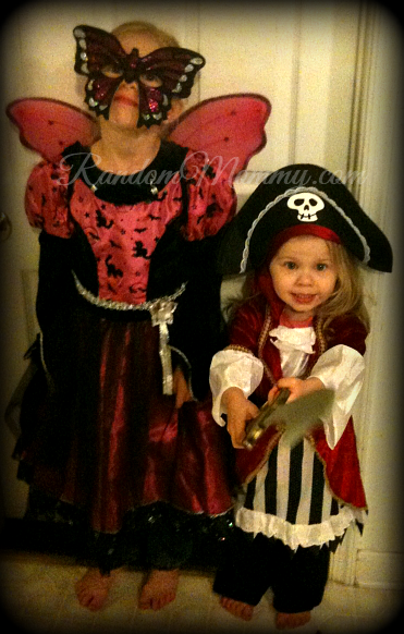Butterfly Fairy and the Pirate