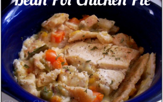 Bean Pot Chicken Pot Pie