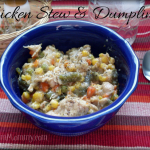 Chicken Stew and Dumplings Recipe