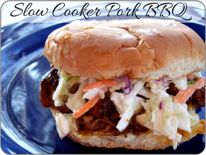 Slow Cooker Pork BBQ