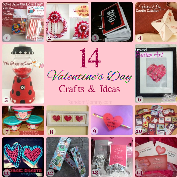 Valentine's Day Crafts and Ideas