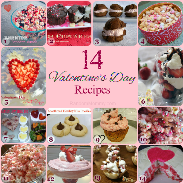 14 Delicious Valentine's Day Recipes