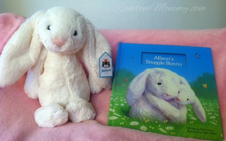New Personalized Children's Book from I See Me: My Snuggle Bunny
