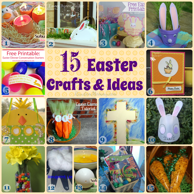 Easter Crafts and Ideas