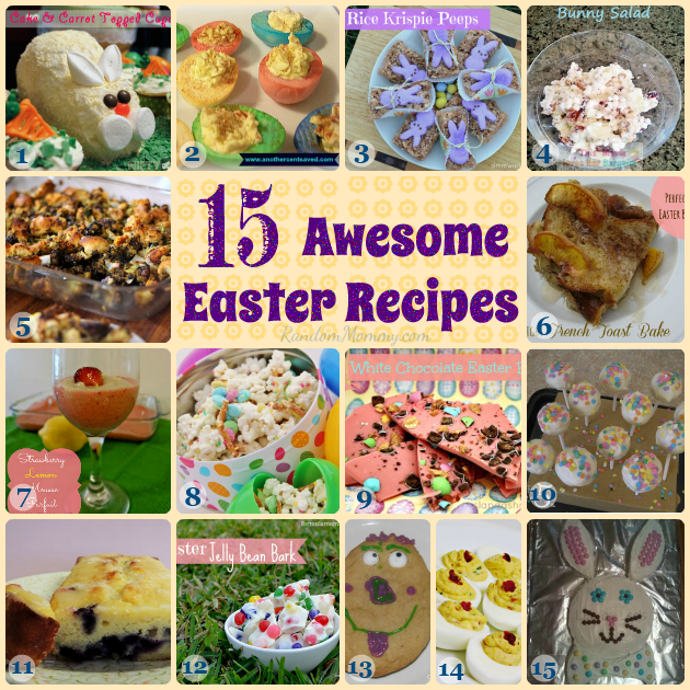15 Easter Recipes
