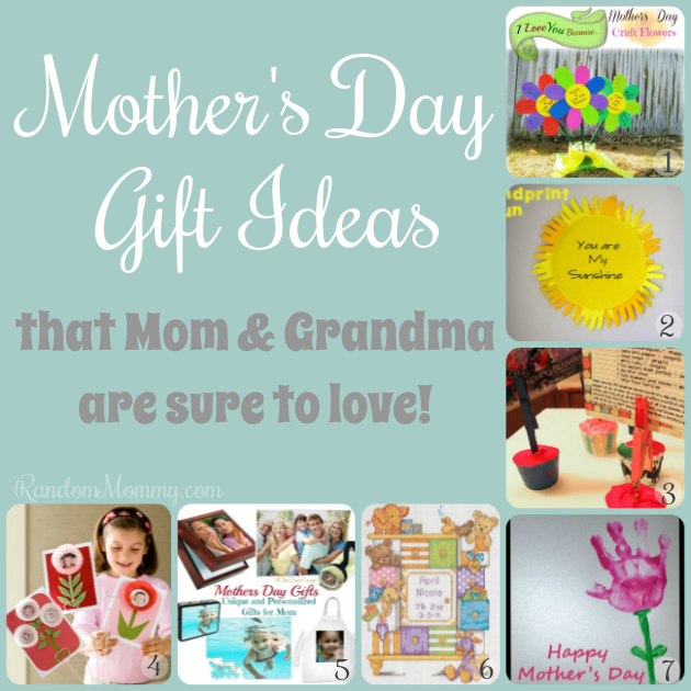 Mothers Day Gift Ideas for Mom and Grandma!