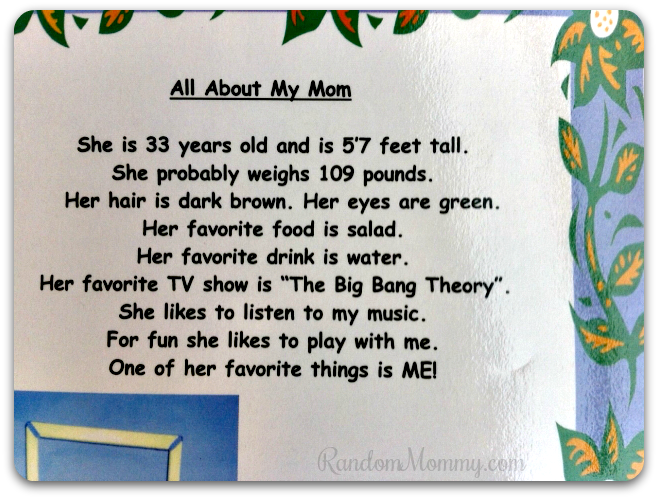 About Mom