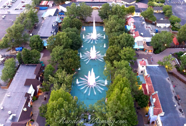Kings Dominion Fountain