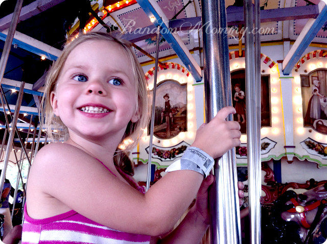 Vacation on the merry go round