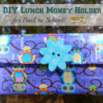 Duct Tape Craft: Lunch Money Holder