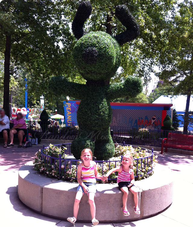 Snoopy at Kings Dominion