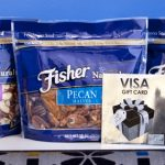 $75 Visa GC + Fisher Nuts Prize Pack Giveaway