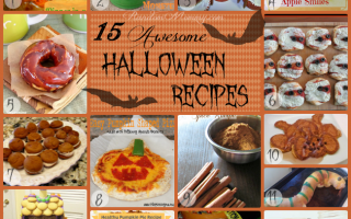 Collection of 15 Awesome Halloween Recipes