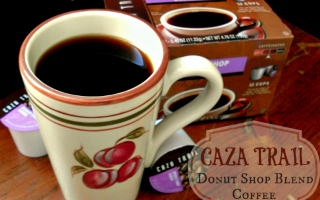 Cozy Up with Warm, Delicious Donut Shop Blend Coffee from Caza Trail #MC