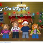 Create Free LEGO Minifigure Holiday Cards!