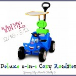 Deluxe 2-in-1 Cozy Roadster #Giveaway