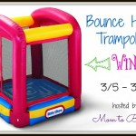 Little Tikes Bounce House Trampoline #Giveaway