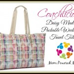 Coach Daisy Madras Packable Weekender Tote #Giveaway!