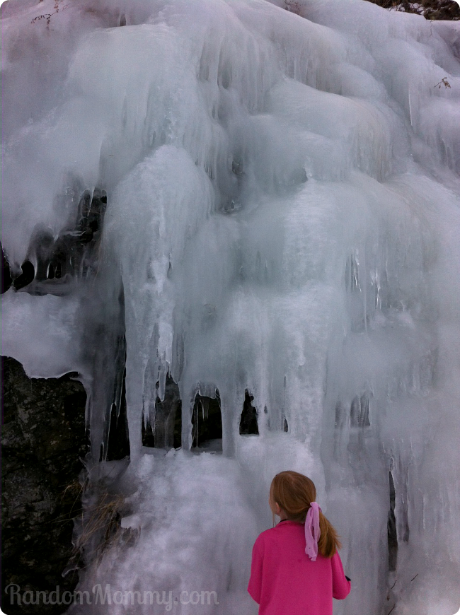 Skyline Drive ice wall
