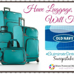 Have Luggage, Will Travel #SummerDreams Sweepstakes