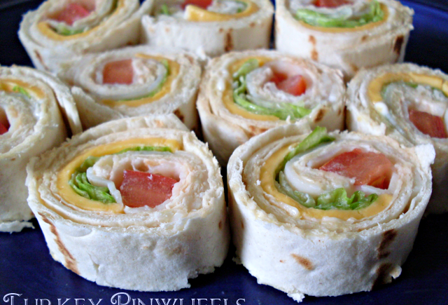 Turkey Pinwheels Recipe