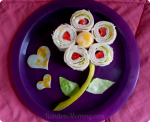 flower snack idea