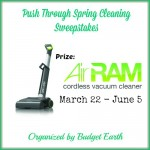 Push Through Spring Cleaning #Sweepstakes – Win the GTech AirRam Vacuum!