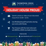 Show Your Holiday Spirit with the #HolidayHouseProud Decorating Contest!
