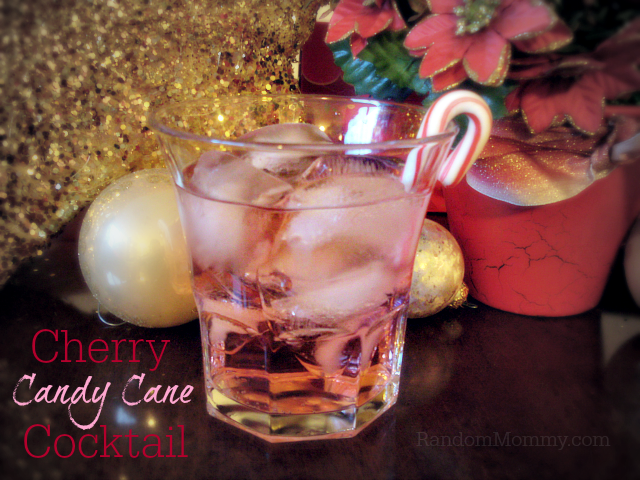 Drink Recipes! Festive Holiday Punch and Cherry Candy Cane Cocktail