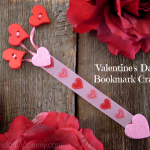 Valentine's Day Bookmark Craft