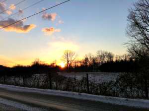 Sunsets & Snow