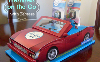 Take the Freshness with You! #FebrezeCar