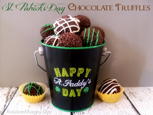 St. Patrick's Day Chocolate Truffles Recipe