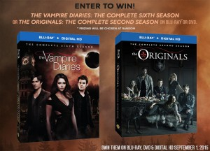 The Vampire Diaries: Sixth Season & The Originals: Second Season Giveaway! #TVD #TheOriginals