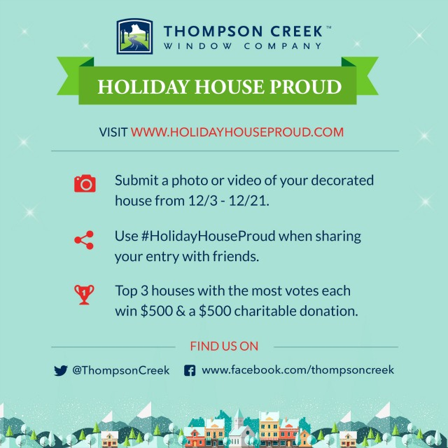 Thompson Creek Holiday House Proud