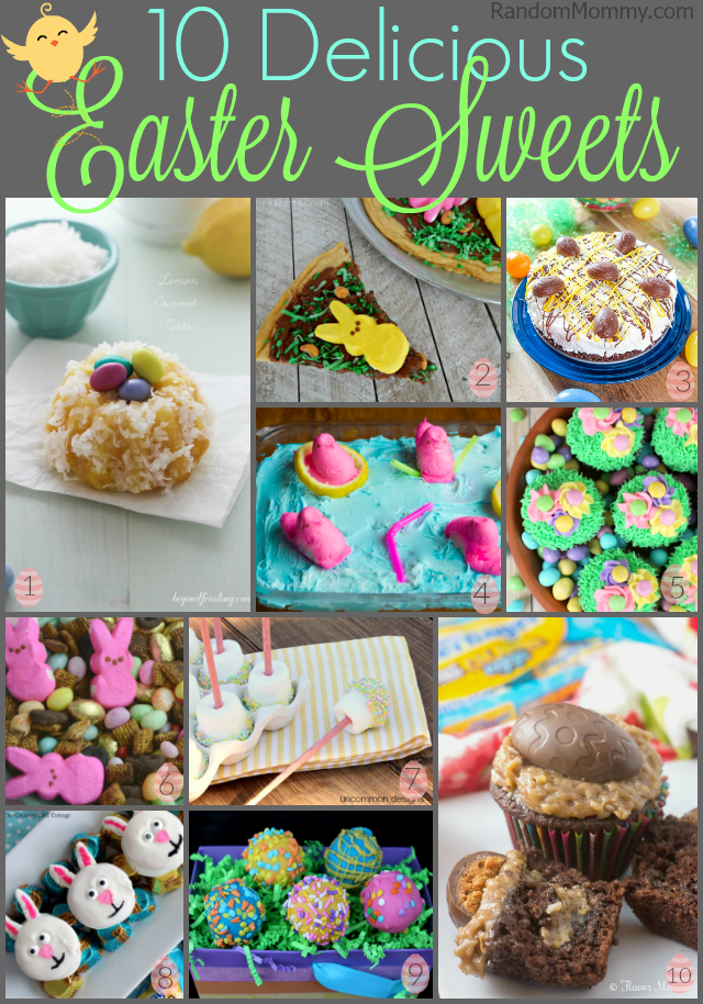 10 Delicious Easter Sweets
