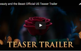 Teaser Trailer for Disney's Beauty and the Beast! #BeOurGuest