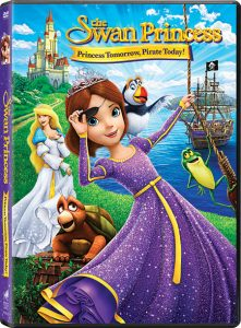 The Swan Princess: Princess Tomorrow, Pirate Today DVD #Giveaway!