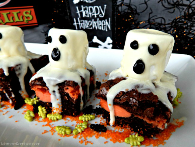 ghostbrownies