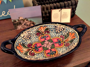 NOVICA – Mexican Talavera Floral Ceramic Oval Serving Bowl Review & GC Giveaway!