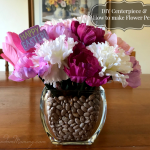 DIY Centerpiece & How to Make Flower Pens
